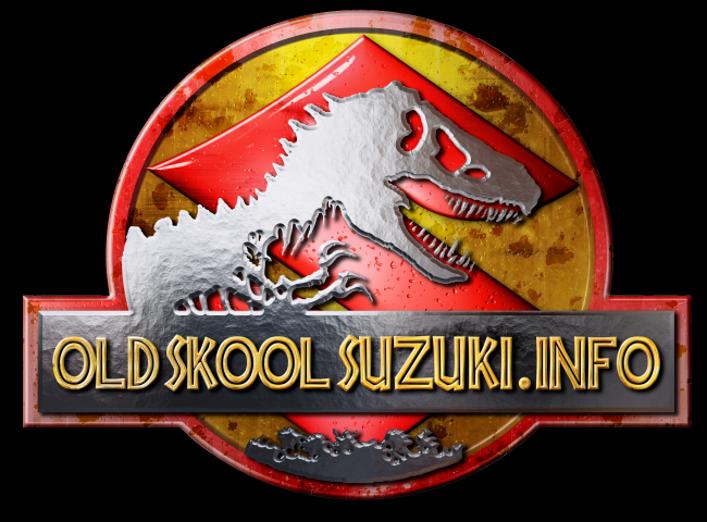 Old Skool Suzuki Logo V3 Small