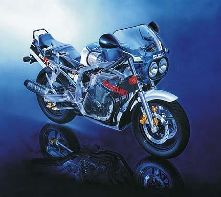 Suzuki Gsxr  Layout