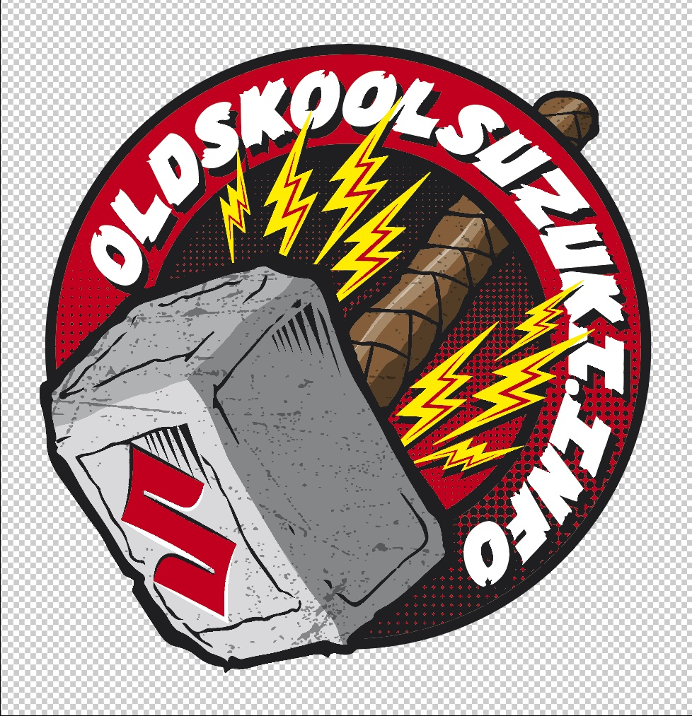 The New OSS logo. Hamna-shin's mighty hammer.