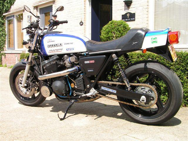 GSX550ES Motor/Running gear swap - Air Cooled