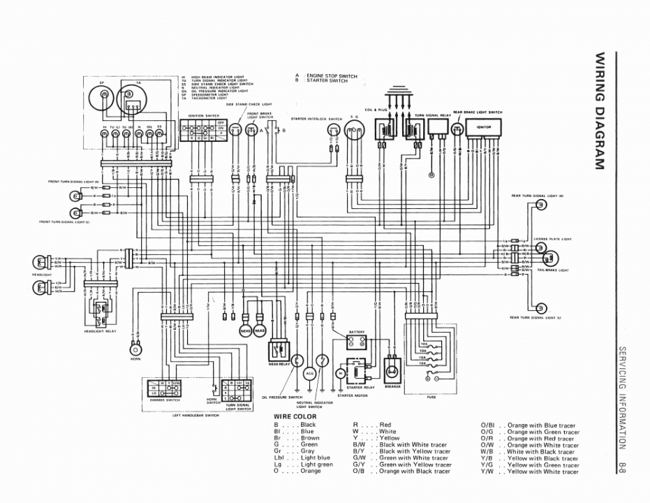 Gsxr 1100 1986 Wiring Diagram